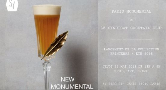 Le Syndicat Cocktail Club x Paris Monumental