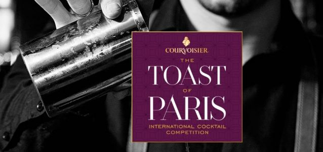 Toast of Paris 2018 by Courvoisier:  Finale Internationale au Purple Bar à Paris