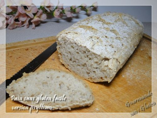 Pain sans gluten facile, version avec psyllium