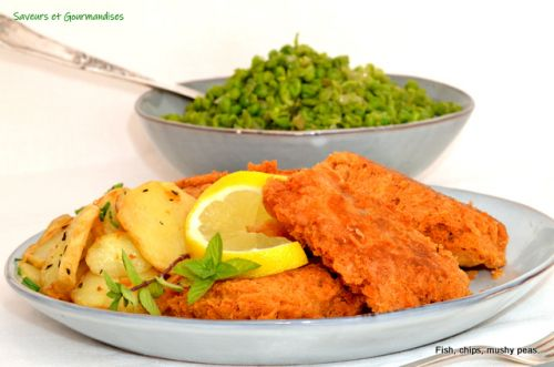 Fish and Myshy peas de Gordon Ramsay