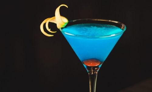 Le cocktail « Angelo azzurro »