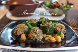 Dolma courgettes ou courgettes farcies