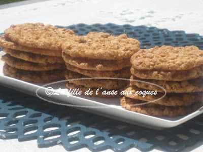 BISCUITS MINCES À L'AVOINE