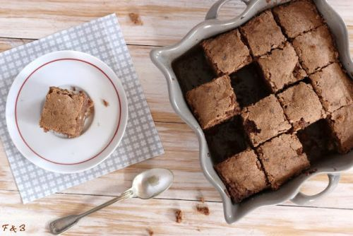 Brownies au fromage blanc