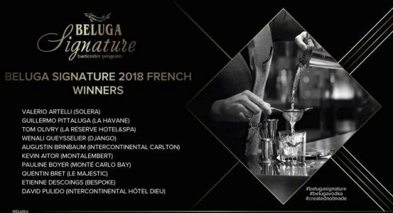 Beluga Signature Creative contest Finale France 2018