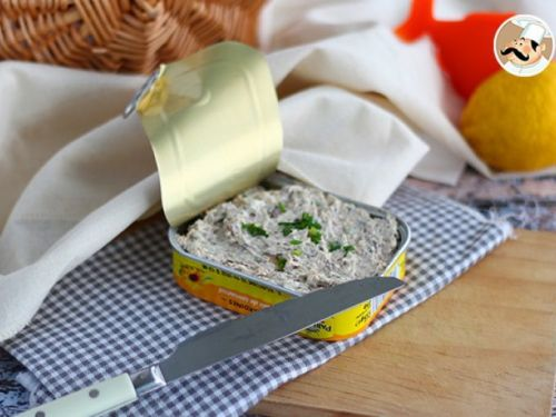 Rillettes de sardines simple et rapide