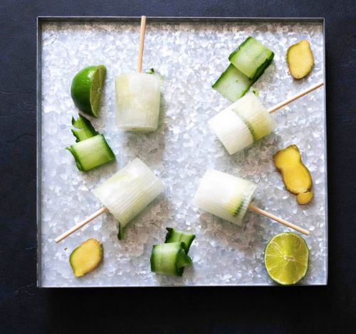 Popsicles Moscow mule