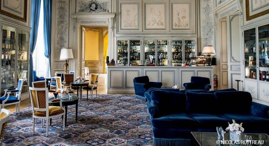 Le bar à cocktail du Château d'Artigny