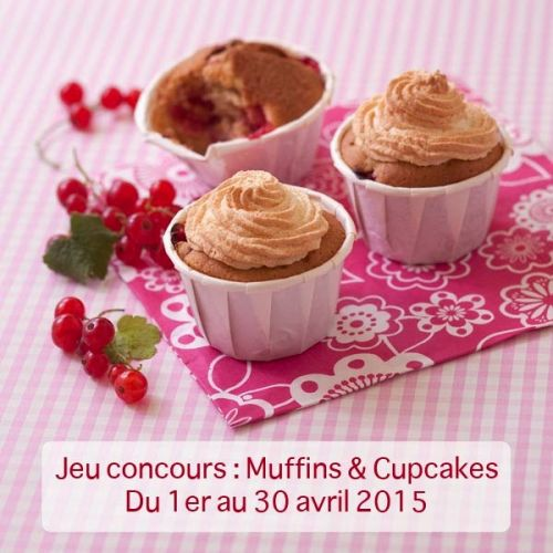 Odélices:  jeu concours Cupcakes & Muffins