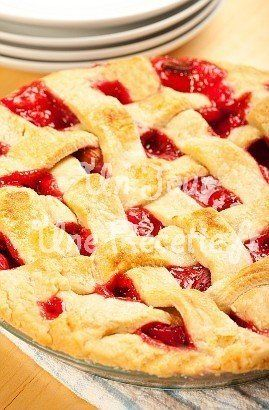 Tourte aux fruits rouges