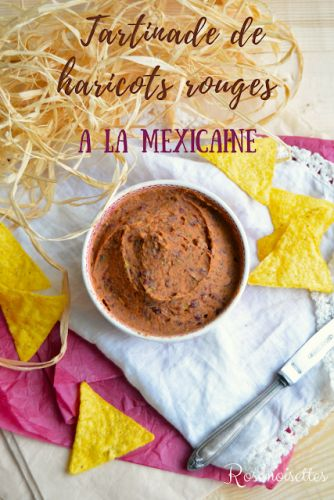 Tartinade de haricots rouges à la mexicaine