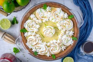 Key lime pie américaine facile