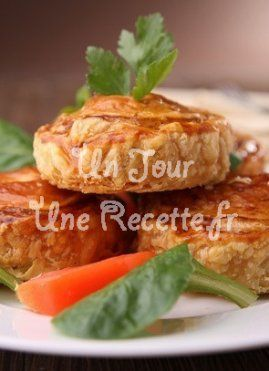 Feuilleté tomate fromage