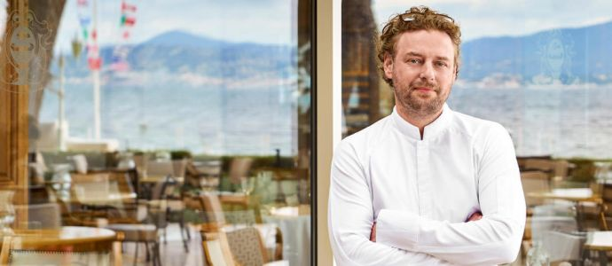 EXCLUSIF. Arnaud Donckele, chef de Cheval Blanc Paris