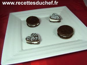 Biscuits chocolat chantilly Pepperron gingembre