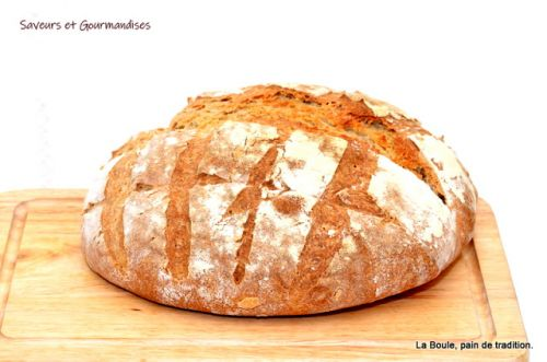 Pain de tradition:  La Boule