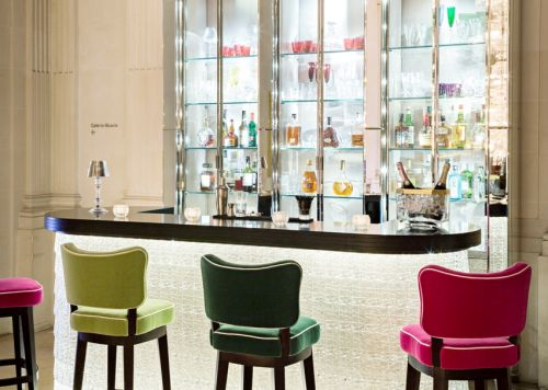 Le Bar du Cristal Room Baccarat à Paris