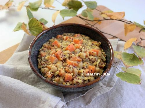 ONE-PAN DHAL AUX PATATES DOUCES