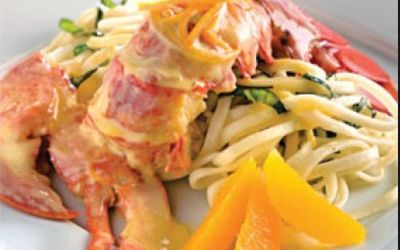 Homard au beurre d'orange