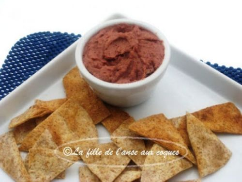 Tartinade, type Hummus, aux haricots rouges