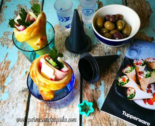 Cornets Party Tupperware concours