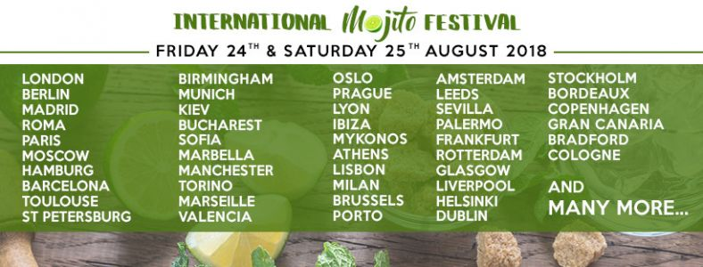 The International Mojito Festival 2018