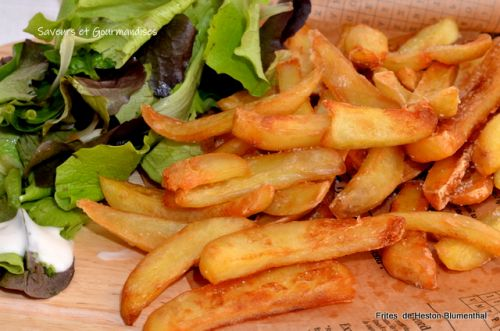 Frites Triple Cuisson de Heston Blumenthal