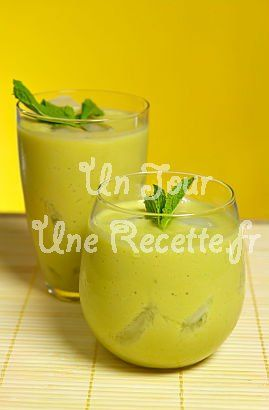 Smoothie à l'avocat