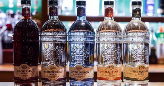Gin City of London distillery:  visite dans le coeur historique de Londres