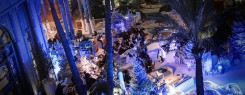 Winter Parties at L'Orange Verte