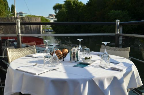 « Welcome on board » au River Café