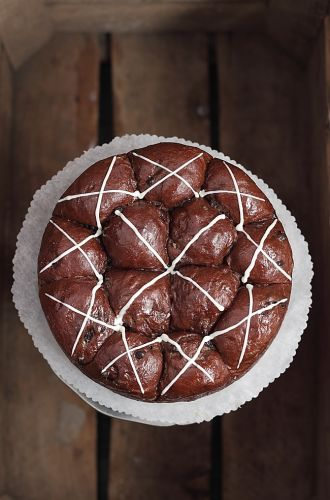 Hot cross buns chocolat
