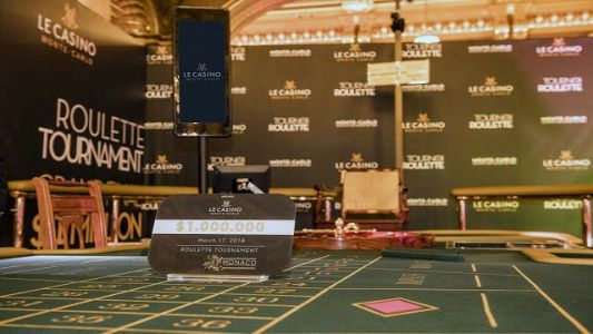 $1 Million remporté au tournoi de roulette du Casino de Monte-Carlo