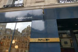 Restaurant Papillon à Paris - Christophe Saintagne