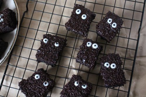 Brownies d'Halloween terrifiants