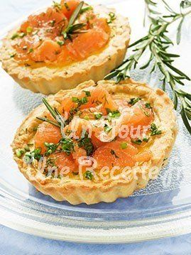 Mini quiches au saumon