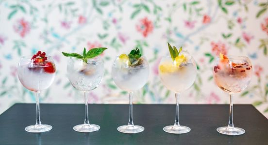 Pairing Gin Cocktails et Sorbets au Trianon Palace Versailles