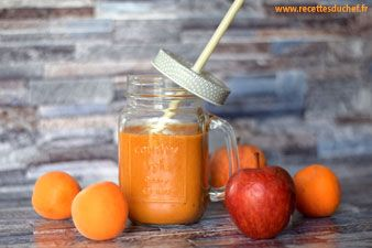 Smoothie abricot pomme