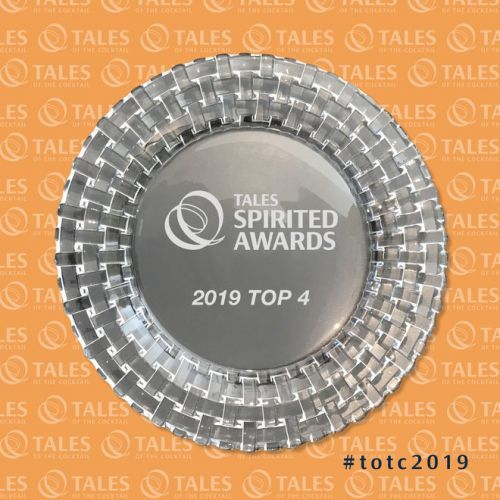 Tales of the Cocktail 2019:  le top 4 des finalistes des « Spirited Awards® »