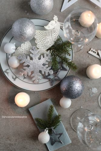 {Inspiration} Table de noël