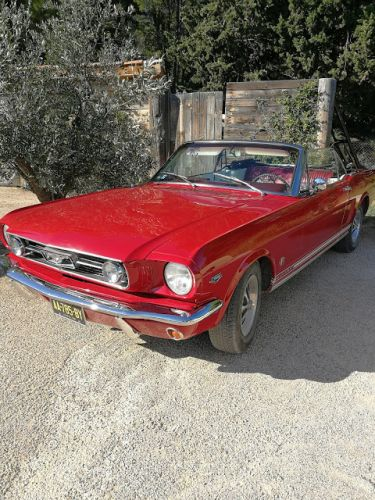 Ford Mustang 1966 289ci