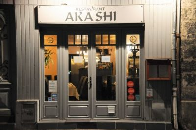 AKASHI Restaurant - Bordeaux