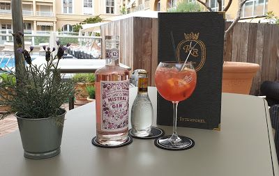 Cocktail « Lady's Gin » Grand Hôtel Roi René Aix-en-Provence by MGALLERY