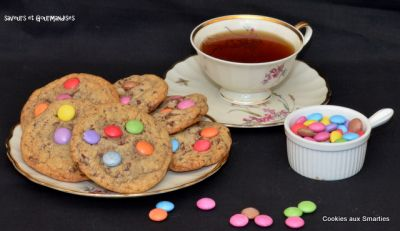 Cookies aux Smarties