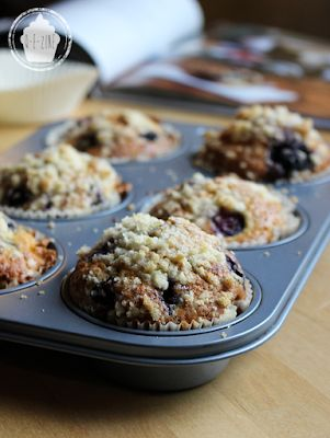 Muffins moelleux aux blueberries