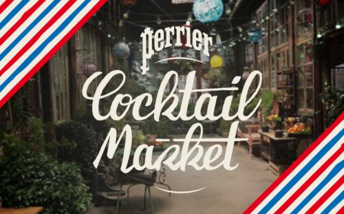 Paris Cocktail Week 2018:  le Perrier Cocktail Market