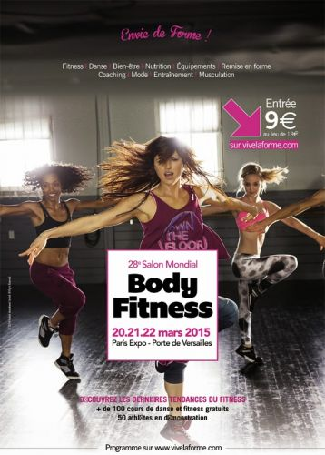 Salon Mondial du Body Fitness - Parc des Expositions