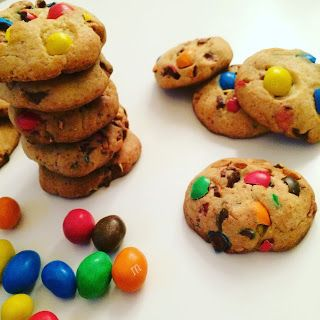 Cookies M&M's ou Daim ?