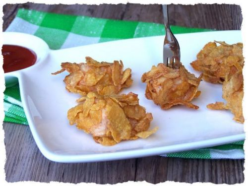 Nuggets de poulet aux corn flakes