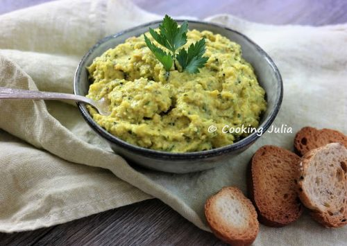 TARTINADE DE COURGETTE